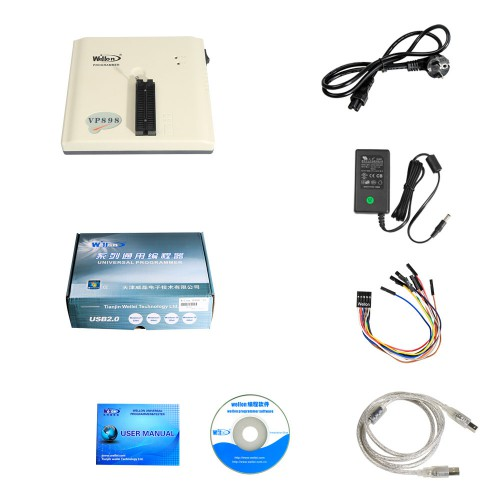 Original Wellon VP898 VP 898 Universal Programmer Multi-language ECU Chip Programmer Coming Soon