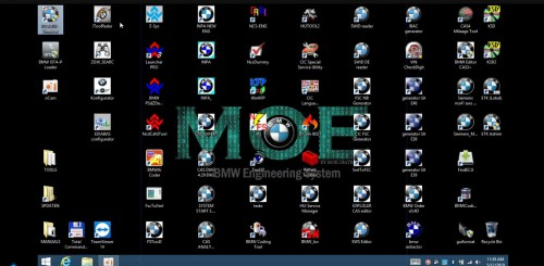 MOE BMW All Engineering System 60 BMW Software All-in-One 500GB SSD Windows 10