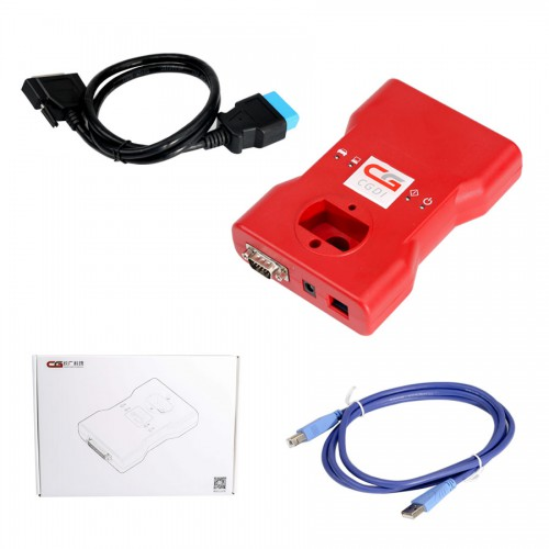 【Ship from US】 V2.6.0 CGDI Prog BMW MSV80 Auto Key Programmer with BMW FEM/EDC Function All Functions Free Now