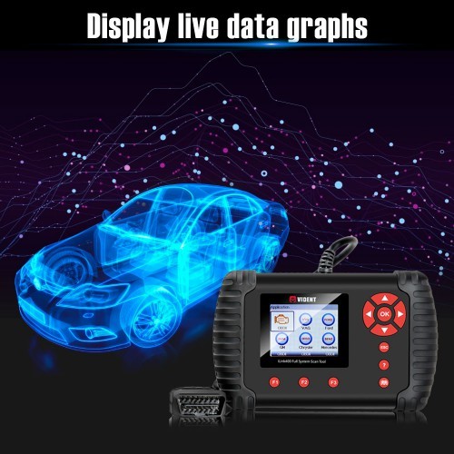 (ship from us) VIDENT iLink400 GM Chevrolet Cadillac Buick Vident Scan Tool iLink400 Diagnostic Scanner Code Reader