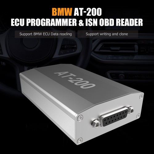 CGDI BMW AT-200 AT200 ECU Programmer & ISN OBD Reader Used for CGDI / VVDI / ACDP
