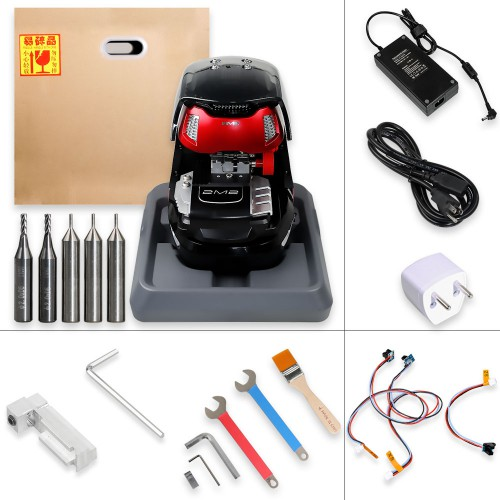 Newest 2M2 Magic Tank Android Automatic Car Key Cutting machine Support Bluetooth with Database 2019.06.12