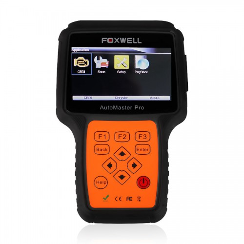 Foxwell NT622 AutoMaster Pro European-Makes All System Scanner