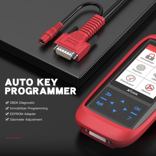 XTOOL X100 Pro2 OBD2 Auto Key Programmer/Mileage Adjustment with EEPROM Adapter