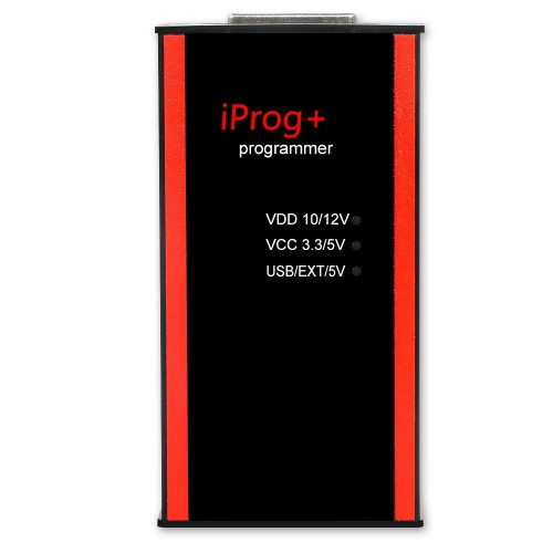 V84 Iprog+ Pro Key Programmer Support IMMO + Mileage Correction + Airbag Reset with 7 Adapters