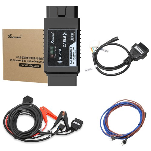[Ship from us] Xhorse VVDI Key Tool Max + MINI OBD Tool + Toyota 8A All Keys Lost Adapter Get Free Renew Cable