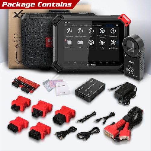 [Ship from US] Original Xtool X-100 PAD2 Special Functions Expert with VW 4th & 5th IMMO+Odometer+Diagnostic+Oil Reset and More