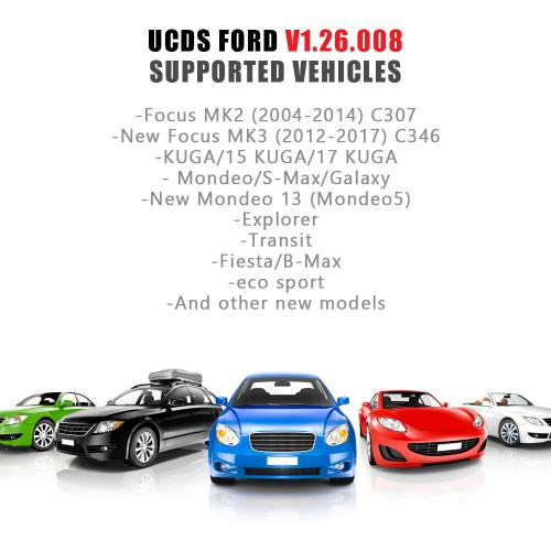 Ford UCDS Pro+ Ford UCDSYS with UCDS V1.26.008 Full License