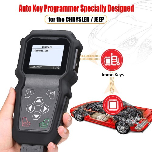 [Ship from US] GODIAG K100 CHRYSLER/JEEP Hand-held key Programmer