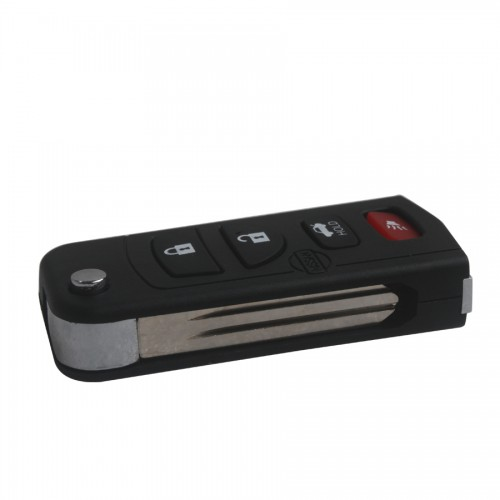 Buy Flip Remote Key Shell 4 Button for Nissan 5pcs per lot