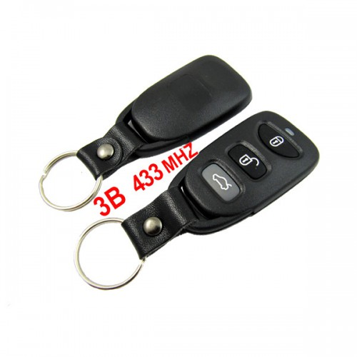 Remote Key for Hyundai 3 Button 433MHZ