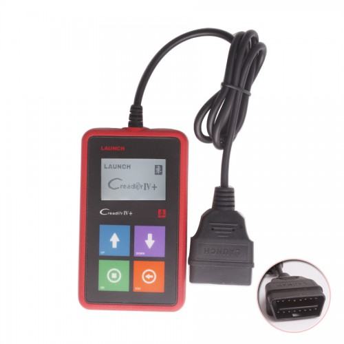 Launch X431 CREADER IV+ Car Universal Code Scanner New Arrival