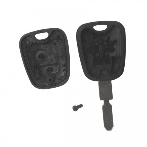 Remote Key Shell for Peugeot 406 2 Buttons (Without Logo) 10pcs/lot