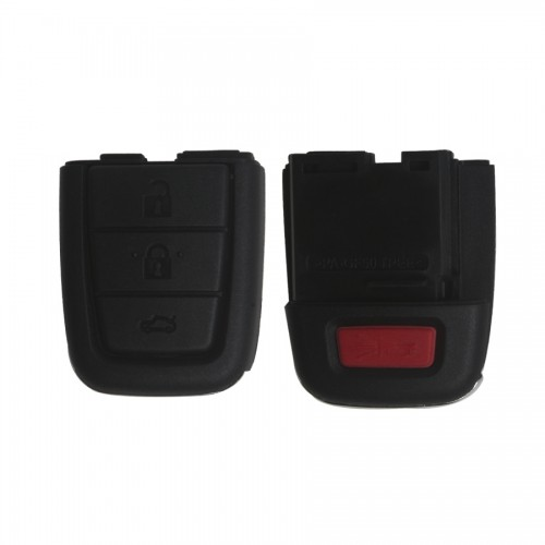 Remote Key Shell for Chevrolet 3+1 Button 5pcs/lot
