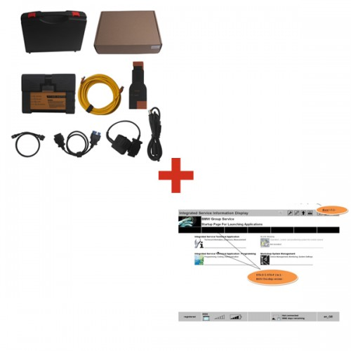 New ICOM A2+B+C Diagnostic Tool for BMW  Plus 2014.11 Latest Software HDD