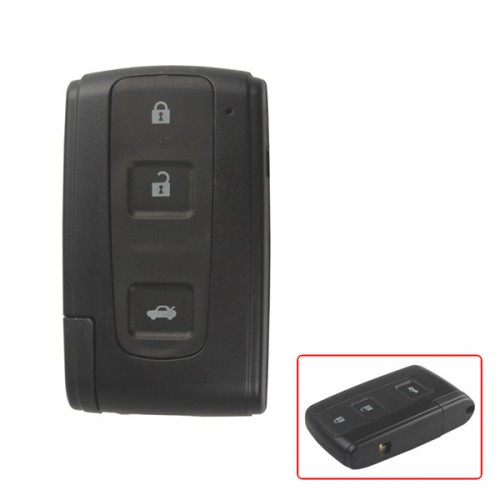 Smart Key Shell for Toyota Crown 3 Button (with the key blade )
