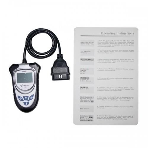 V-CHECKER VCHECKER V101 OBD2 Code Reader Without CAN BUS