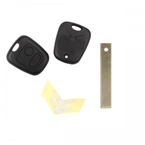 Remote Key Shell for Citroen 2 Bbutton HU83(With Groove) 5pcs/lot