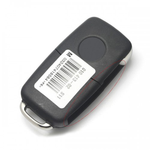 Smart Remote Key for Skoda 3 Buttons 434MHZ Type 3T0 837 202 H