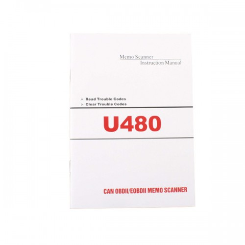 (Ship from US No Tax) U480 OBD2 CAN BUS OBDII Engine Code Reader/Scanner