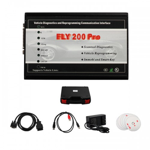 Fly200 Pro Fly 200 Scanner Auto Diagnosis for Ford Mazda Landrover