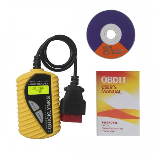 CAN OBD2/EOBD V-A-G Code Reader T45(Multilingual)