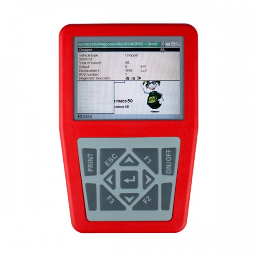 iQ4bike Diagnostics for Motorcycles Universal Motobike Scan Tool