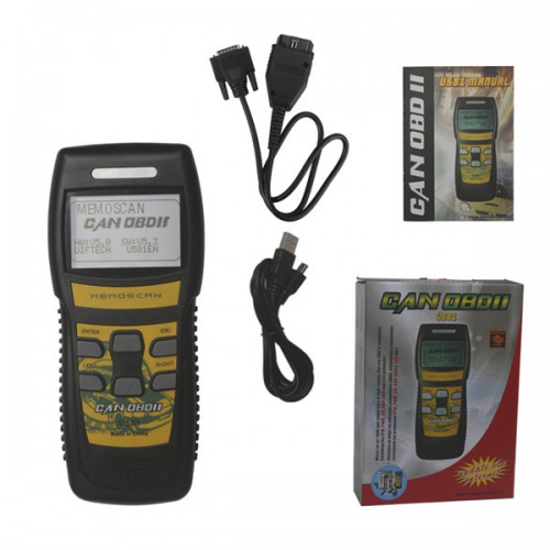 U581 LIVE DATA OBD2 EOBD Scanner Can-Bus Code Reader Free Shipping
