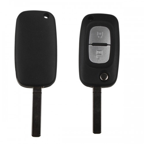 Renault 2Buttons Folding Remote Key 433MHZ With 46 Chip