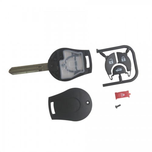 Remote Key Shell for Nissan March 4 Button 5pcs/lot