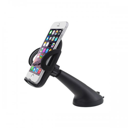 C03 3 in 1 Mobile Phone Dashboard Air Vent and Windscreen Car Holder / Cradle / Mount / - Works on Dashboard / Air Vent and Windscreen