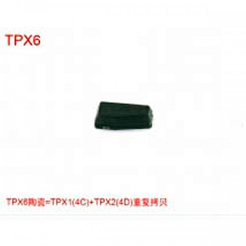 TPX6 Chip=TPX1(4C)+TPX2(4D)( can repeat copy)