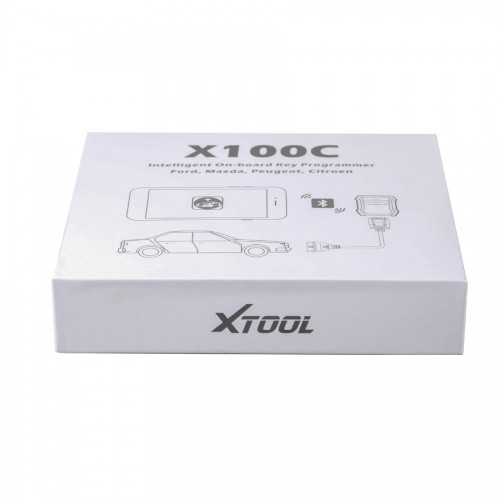 Xtool X-100 C for iOS and Android Auto Key Programmer for Ford/Mazda/Peugeot /Citroen