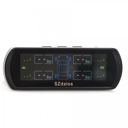 SZDALOS TP400 Solar TPMS Wireless for Car/MPV/SUV/VAN with Mini External Sensor
