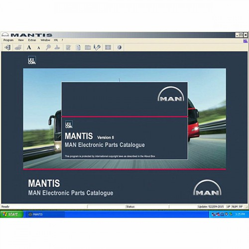 Man (Mantis) 2015 Workshop Info System Catalogue