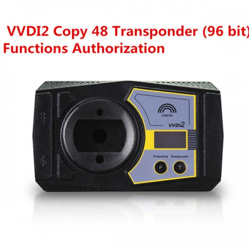Xhorse VVDI2 Copy 48 Transponder (96 bit, All Car with ID48 Transponder) Functions Authorization Service