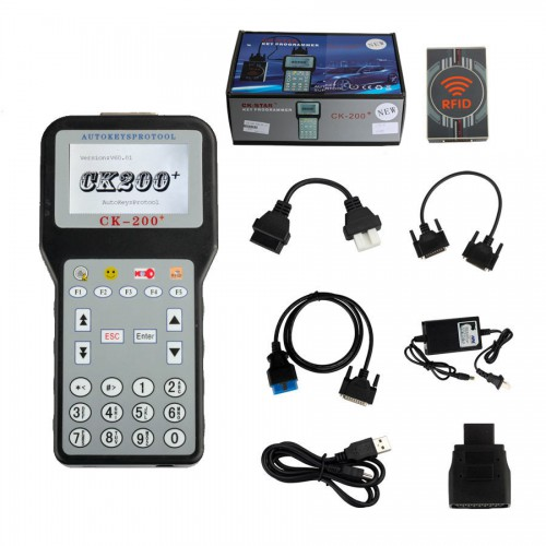 V50.01 CK-200 CK200 Auto Key Programmer Newest Generation Updated Version of CK-100