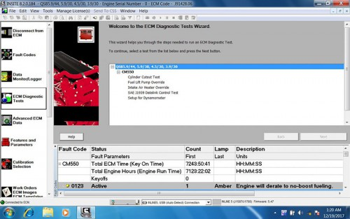 Cummins INSITE 8.2.0 Software Lite Version Multi-languages