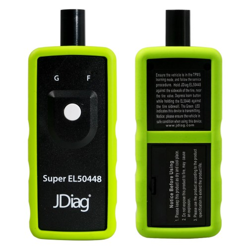 JDiag FasTPMS Super EL50448 for GM and Ford TPMS Relearn
