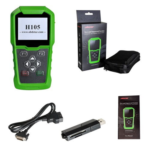 【Ship from US/UK No Tax】OBDSTAR H105 Hyundai/Kia Auto Key Programmer / pin code reading / Cluster Calibrate
