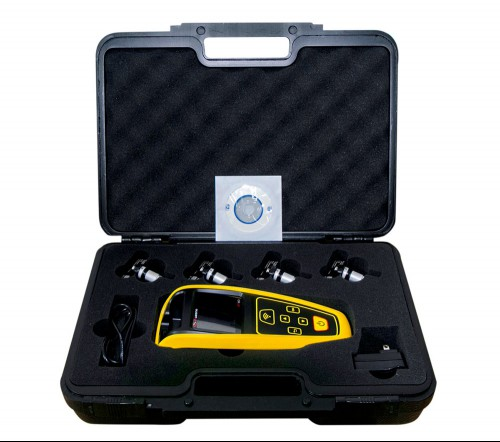 AUZONE AT60 TPMS Diagnostic & Service Tool with 4pcs 315MHz/433MHz Universal Sensor Better than Autel TS401