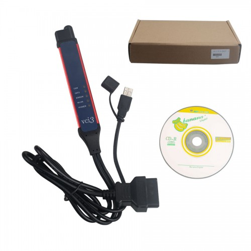 Latest V2.46.1 Scania VCI-3 VCI3 Scanner Wifi Diagnostic Tool for Scania