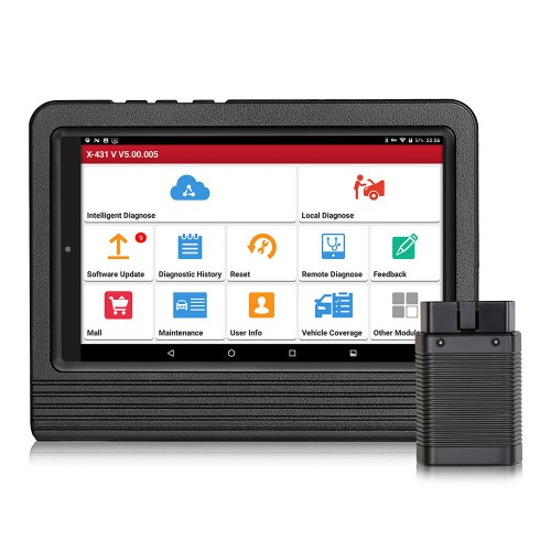 [Ship from US] Launch X431 V 8inch Tablet Wifi/Bluetooth Full System Diagnostic Tool Two Years Free Update Online