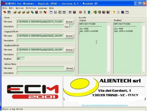 ECM Chip tuning 2001 V6.3