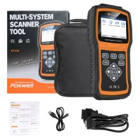 【Ship from US】Original Foxwell NT530 Full-System OBD2 Diagnostic Scanner Upgrade Version of NT520 Pro For Latest Car models