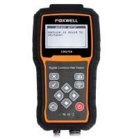 Foxwell CRD700 Digital Common Rail High Pressure Tester-State of Art Technology for Diagnosis of Fault in Common Rail Systems
