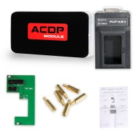Yanhua Mini ACDP Module6 MQB/MMC Instrument Authorization with Adapters Newly Added PCF-Key adapter