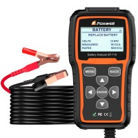 [Ship from US] Foxwell BT-715 Battery Analyzer Support Multi-Language Replaced Foxwell BT-705