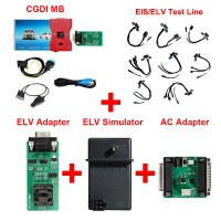 [UK/US Ship] CGDI MB with Full Adapters including EIS/ELV Test Line + ELV Adapter + ELV Simulator + AC Adapter with New Diode