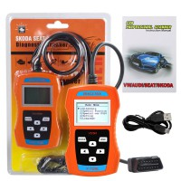 V-A-G506M VW/AUDI/SEAT/SKODA V-A-G Code Reader Support TP-CAN and New UDS Protocol